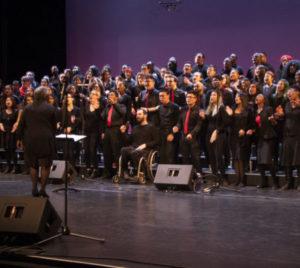 Photo of the York U Gospel Choir